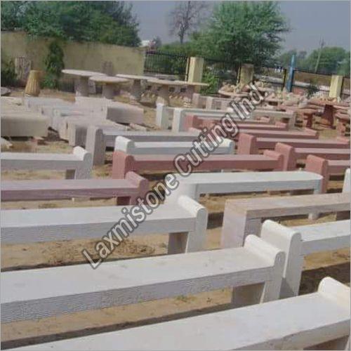 Sandstone Garden Bench