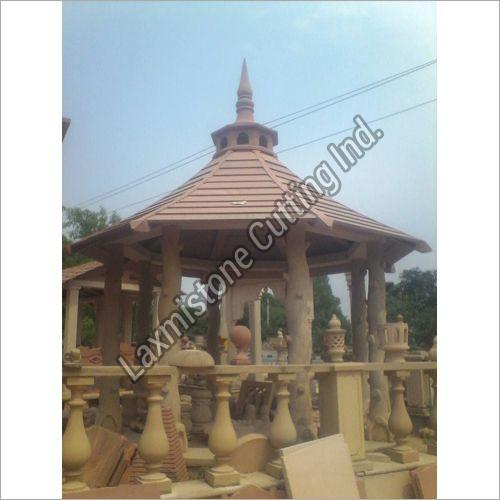 Sandstone Hut Construction