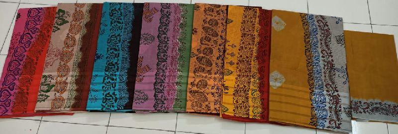 fashionable cotton sarees
