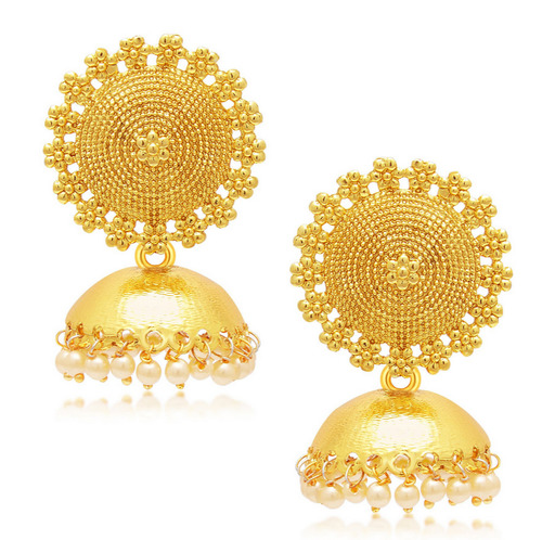 Fancy Gold Plated Jhumka