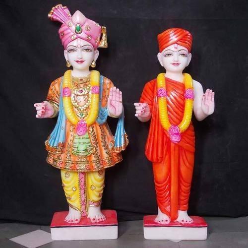 Swaminarayan Marble Statue