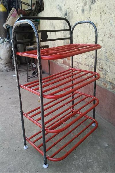 4 Section Shoe Rack