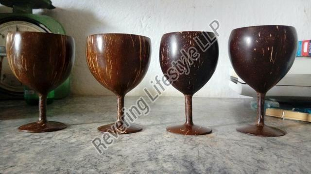 Coconut Shell Wine Glass