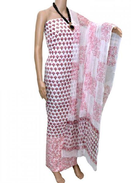 Sanganeri Printed Cotton Suit