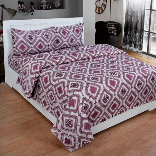 3D Poly Cotton Trendy Bedsheet