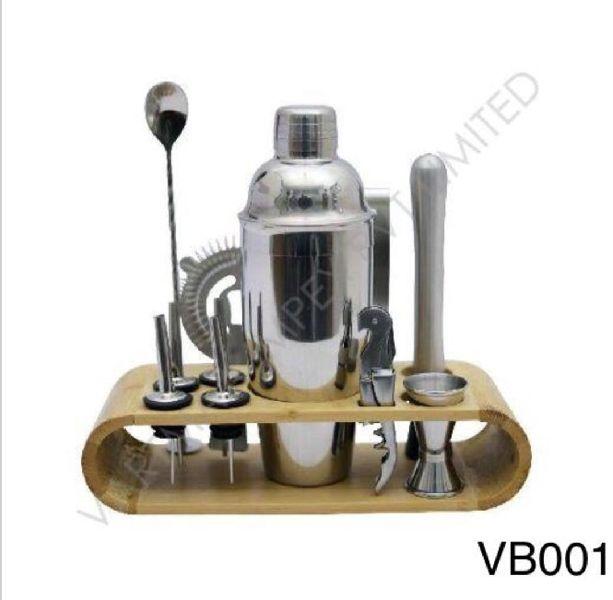Stainless Steel Barware Set