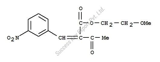 2-Methoxyethyl-2-(3-Nitrobenzylidene) Acetoacetate