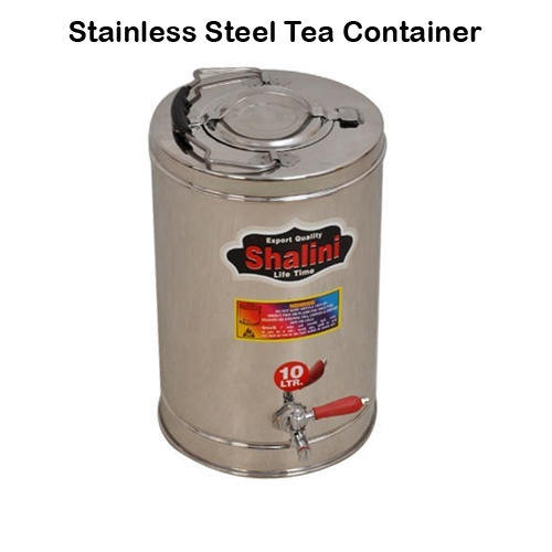 Printed Stainless Steel Tea Container