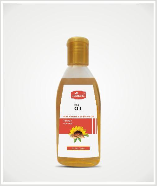 Mapril Almond & Sunflower Hair Oil