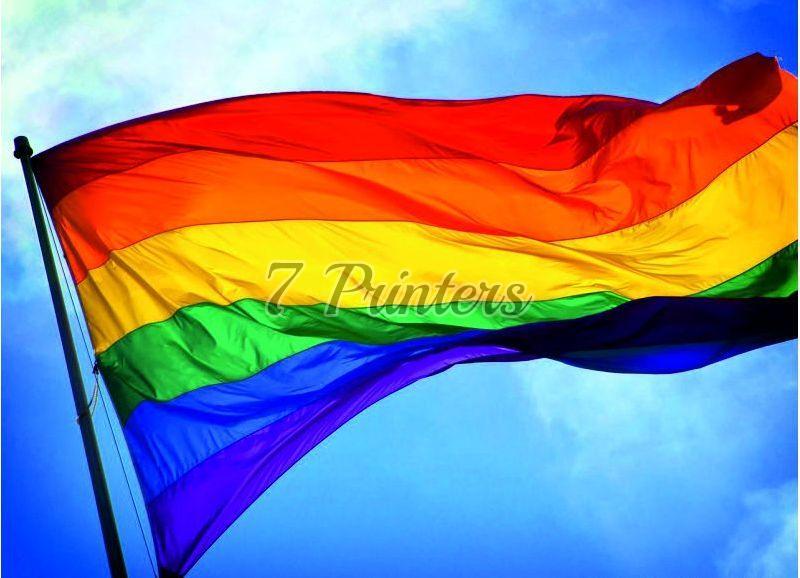Multi Coloured flags