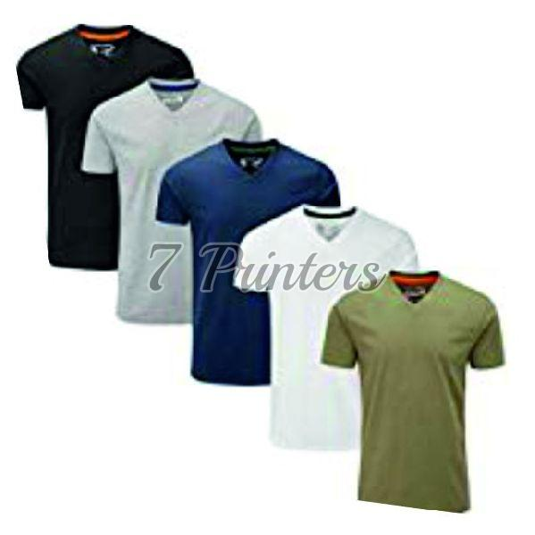 V Neck Cotton T-Shirts
