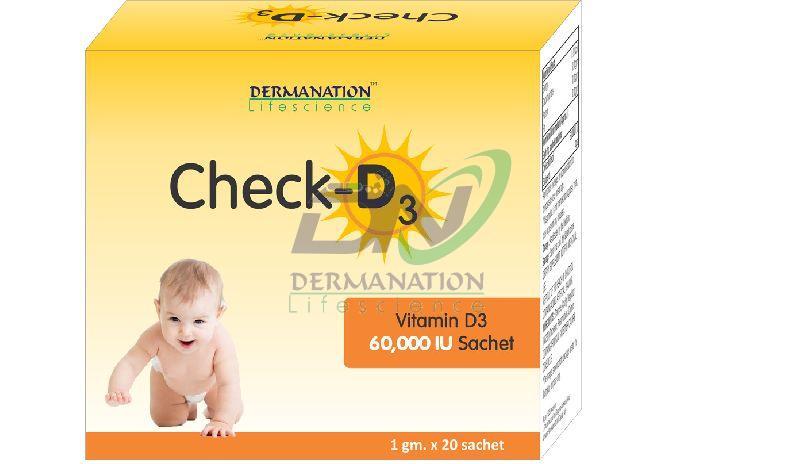 Check-D3 Sachet