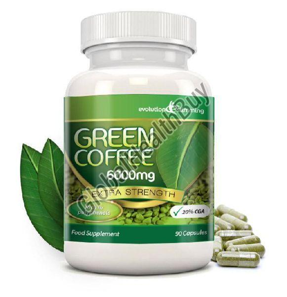 Green Coffee Bean Extract Capsules Exporter Supplier In Allahabad