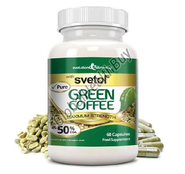 Svetol Green Coffee Bean Extract Capsules Exporter Supplier In