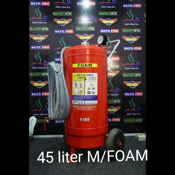 45 Ltr Mechanical Foam Type Fire Extinguisher