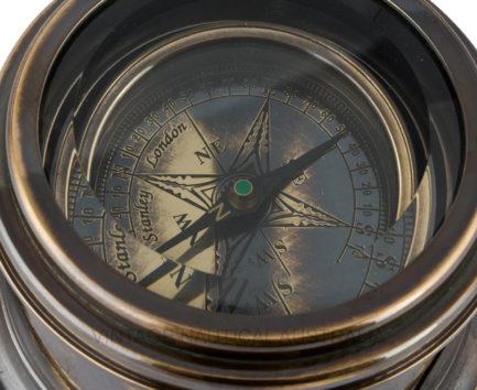 Royal Navy Drum Compass