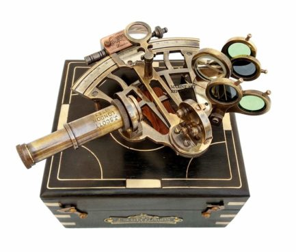 J.scott London Brass Sextant