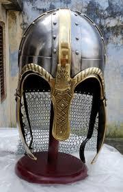 Medieval Viking Chainmail Helmet