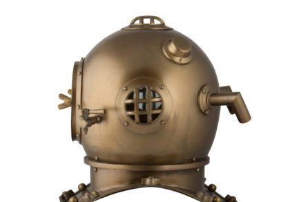 Divers Helmet (scuba)- Anchor Engineering 1921, Karl Heinke, Munich Germany