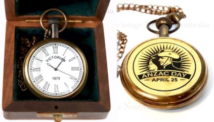 Pocket Watch Anzac Day