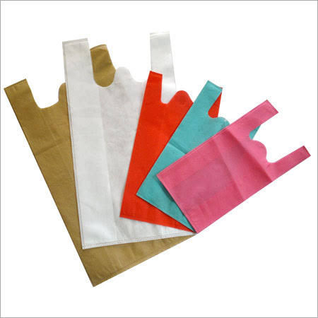 W Cut Non Woven Carry Bag