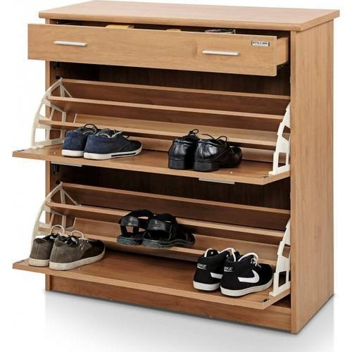 4 Feet Wooden Shoe Rack