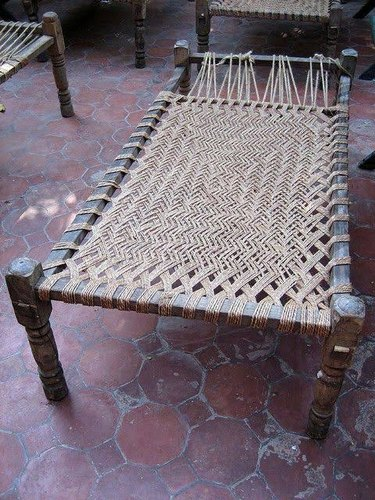 Wooden Charpai