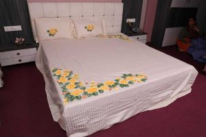 Hand Painted Bed Sheets