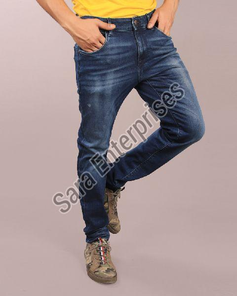 Mens Plain Jeans