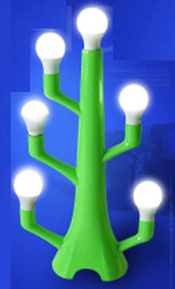 LED Bulb Display Stand