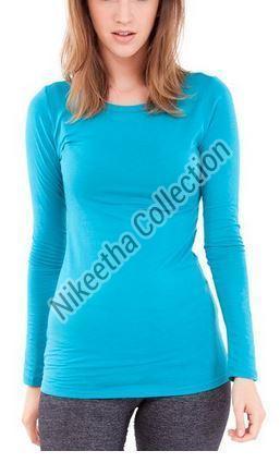 Ladies Full Sleeve T Shirts