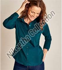 Ladies Plain Shirts