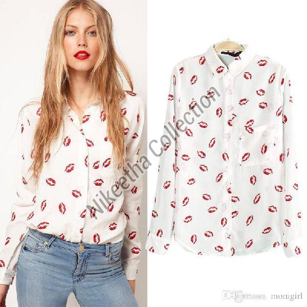 Ladies Printed Shirts