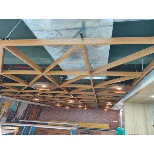 Wooden False Ceiling Work