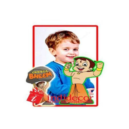 Chota Bheem Photo Printed Magnet Sticker