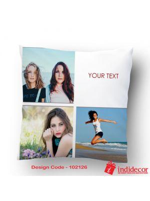 Customized Photo Cushion - 102126