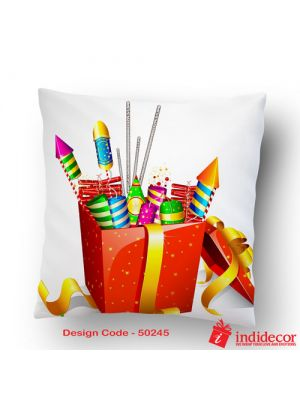 Diwali Gift Cushion 50245