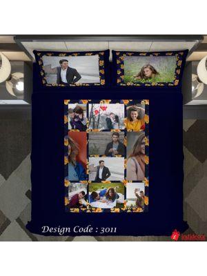 Photo Bedsheet Blue BD3011-2
