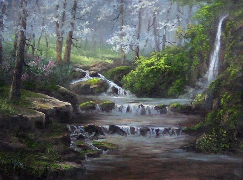 Water Scene Painting