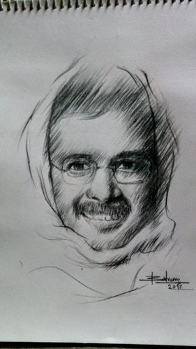 Pencil Sketch Painting