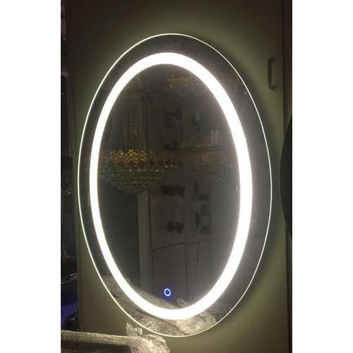 LED Sensor Oval Mirror Light