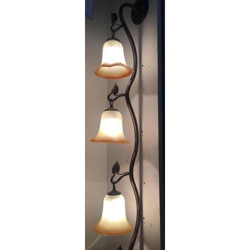 Tri Corner Wall Light