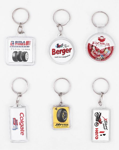 Digital Crystal Photo Keychains