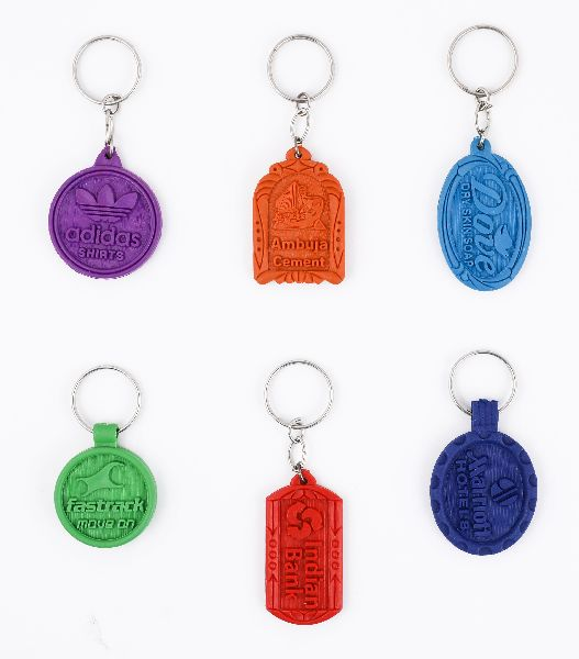 PVC Moulding Keychains