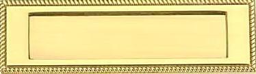 MI-143 Brass Letter Plate