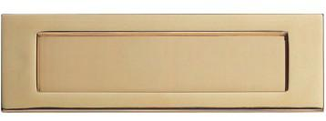 MI-142 Brass Letter Plate