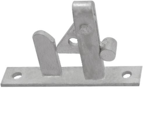 Self Locking Gate Latch
