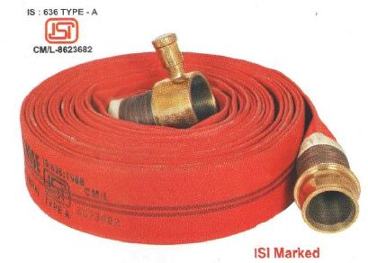 Red Fire Hose Reel