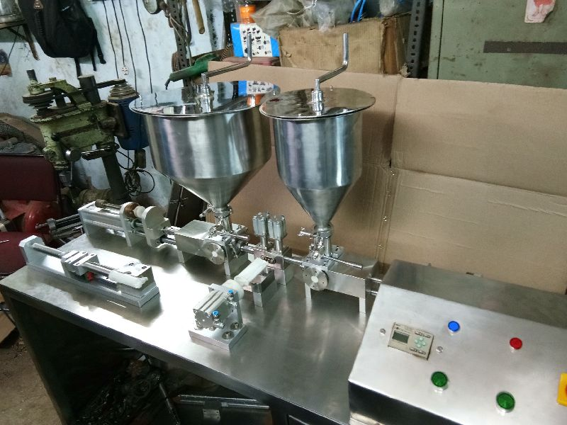 Dual Cartridge Filling Machine
