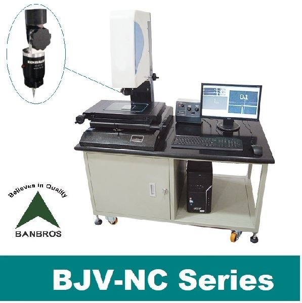 Motorized NC Video Measuring Machine